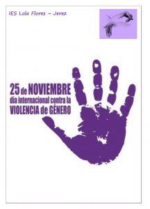 Leer más: El IES Lola Flores contra la violencia de género - 25 noviembre de 2020