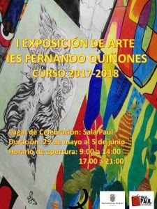 Leer más: I Exposición de Arte IES Fernando Quiñones